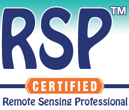 2- Remote Sensing Professional Certificate.. RSP™ (includes 4 short courses).