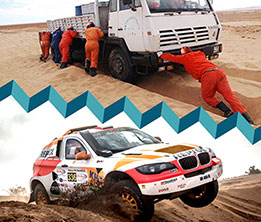 SAFETY IN MOUNTAIN OR DESERT CROSSING FOR OIL & GAS, MINERAL, RALLIES & SAFARIS