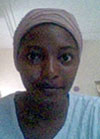 Idris Halima Ohunene, Geologist, National Space Research and Development Agency, Nigeria.