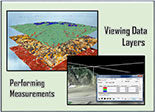 Viewing Data Layers and Performing Measurements