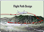 Simulated Flight Path Design