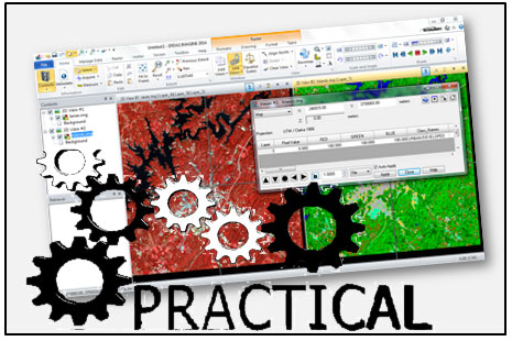 Introduction to Practical Remote Sensing (Using ERDAS IMAGINE) Training Course & tutorial