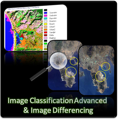Satellite Images Classification (Advanced) + Image Differencing Training Course (Using ERDAS IMAGINE)