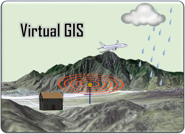 3D viewing & Simulation For Satellite Images Using Virtual GIS Online Training Course & tutorial (Using ERDAS IMAGINE)